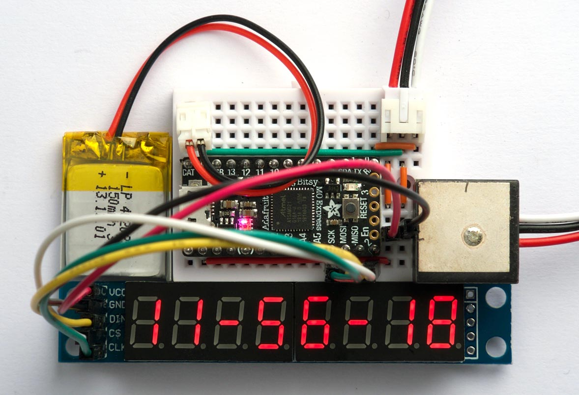 GPS Clock using uLisp