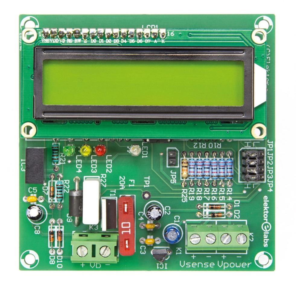 Free Elektor Article: 0-30V Lead-acid Battery Activator
