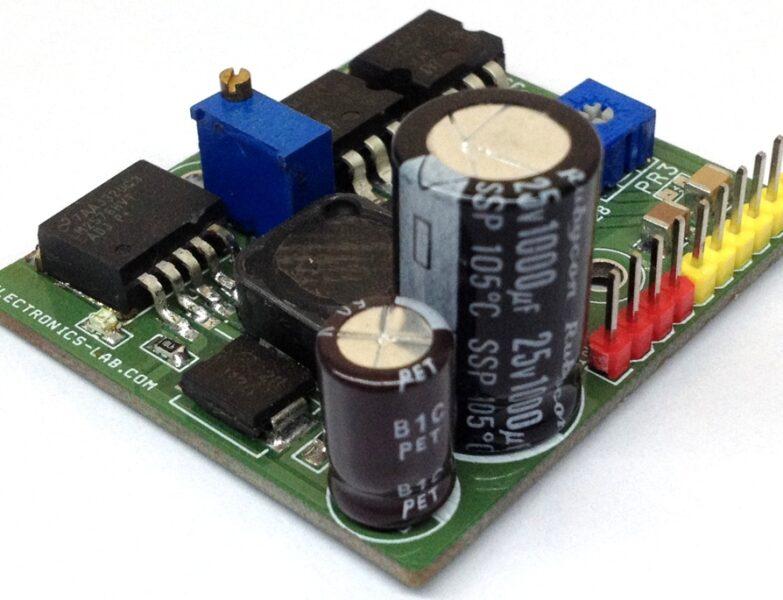 Multi-output Power Supply Based on LM2576HV-ADJ