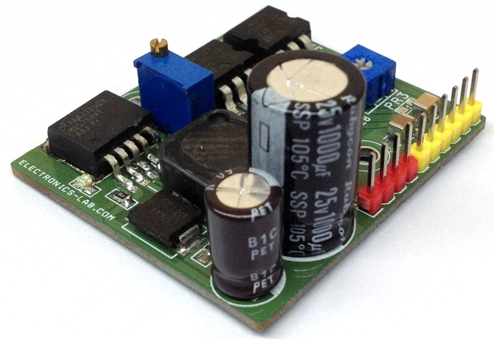 Multi-output Power Supply Based on LM2576HV-ADJ