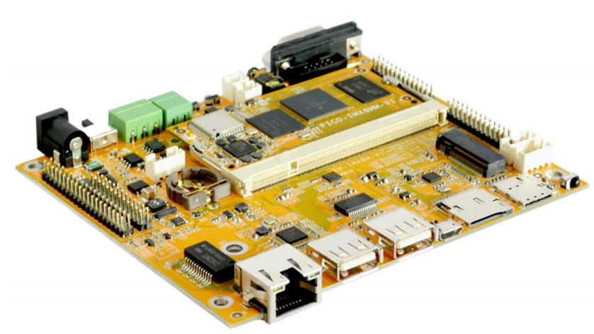 Sandwich-style SBC runs Linux on i.MX8M Mini