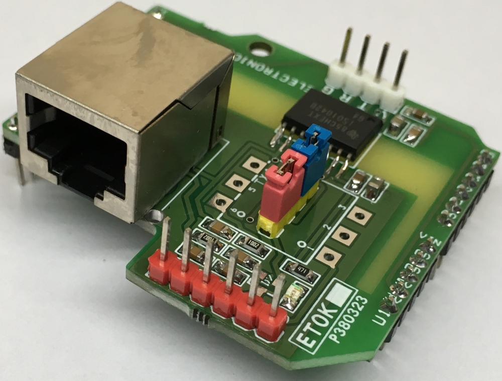 Isolated CAN BUS Transceiver Arduino Shield