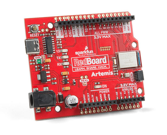 RedBoard Artemis – Sparkfun's New Bluetooth Enabled Artemis Module