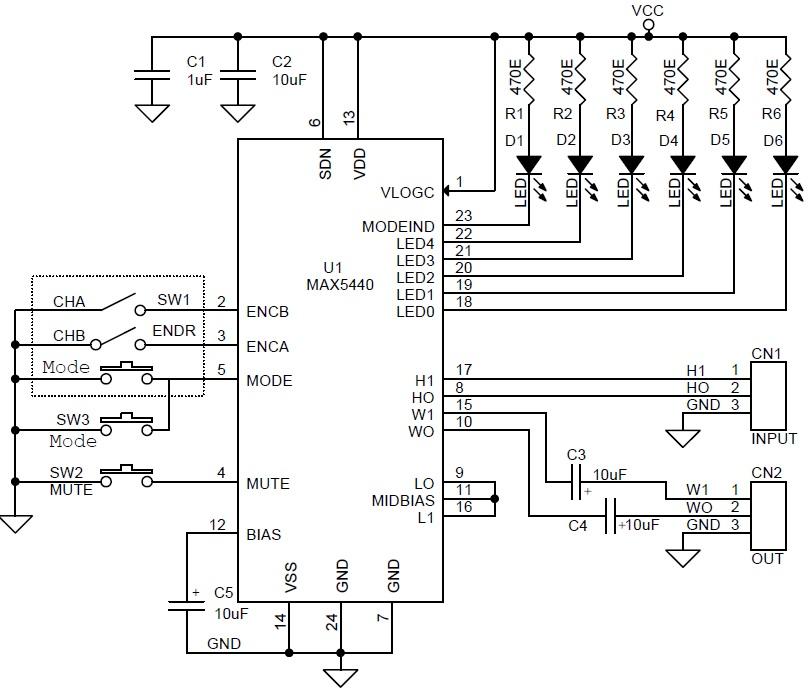Diagram wiring rotary encoder Arduino Rotary