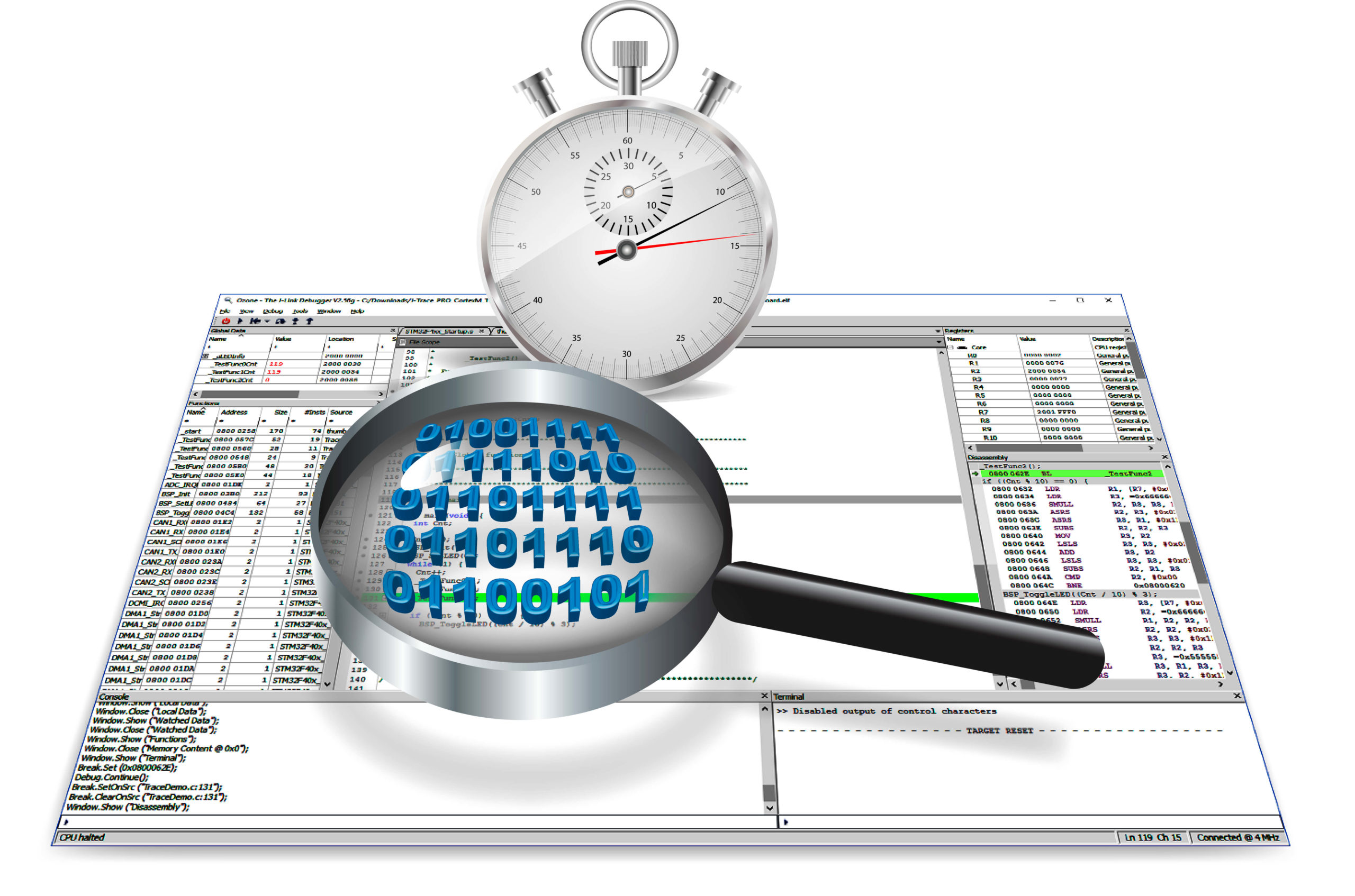 SEGGER's Ozone debugger adds support for custom instructions