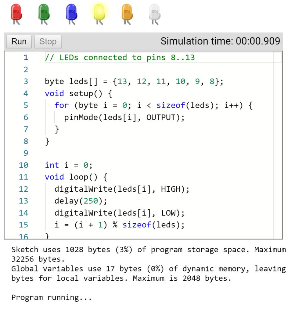 AVR8js – Open Source Arduino Simulator Based on JavaScript