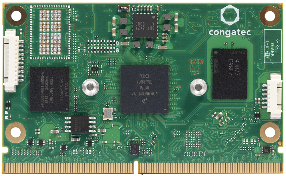 A new SMARC 2.0 module from Congatec with i.MX 8M Nano processor