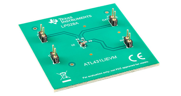 ATL431LI High-Bandwidth, Low IQ Programmable Shunt Regulator