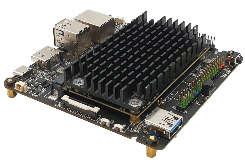 Rock Pi N10 from Radxa is powered by RK3999Pro and Integrated Neural Processing Unit