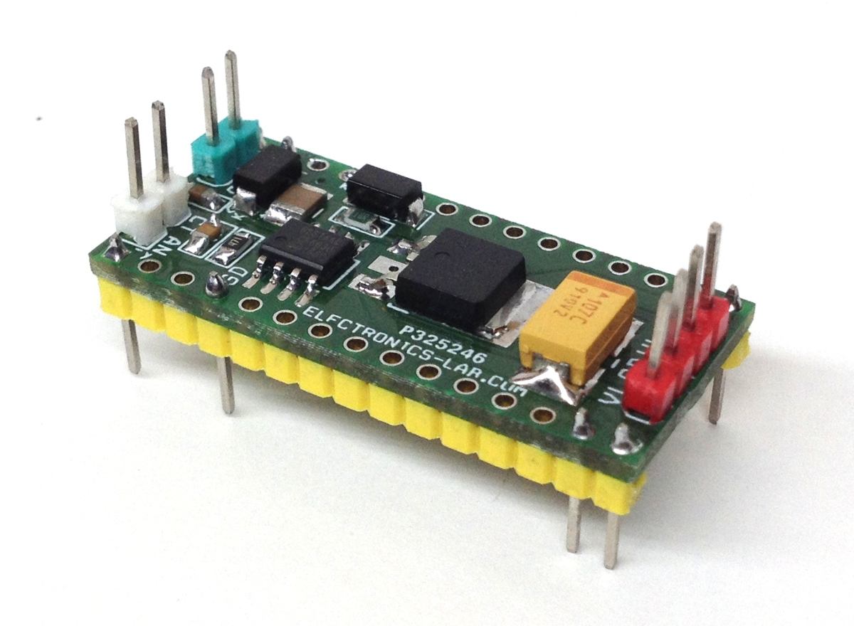 Isolated Gate MOSFET Driver Based DC Motor and Solenoid Driver Arduino Nano Shiled