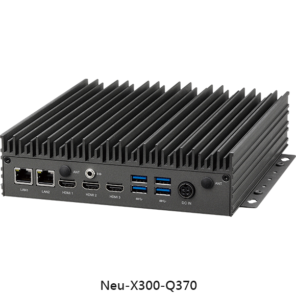 Neu-X300 – Edge Computing System Powered by 8th Generation Intel® Core™ Processor
