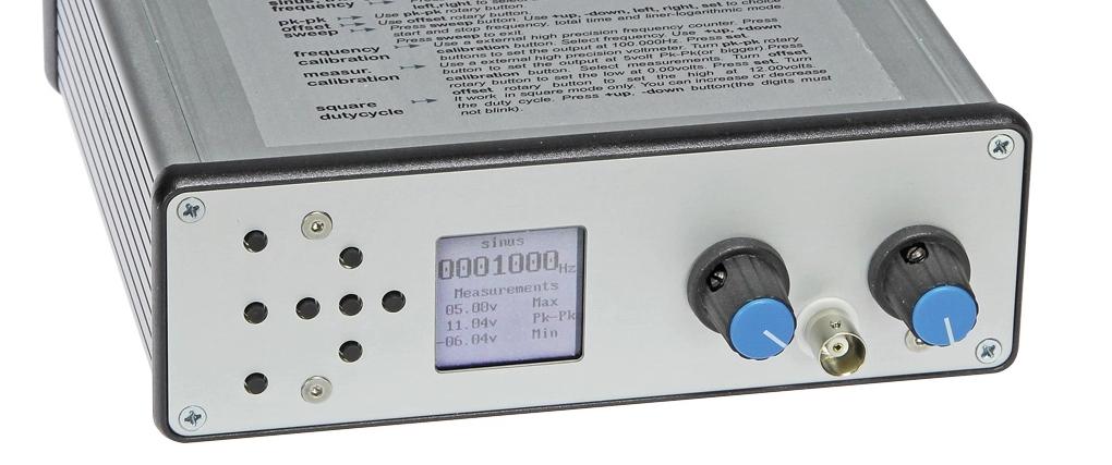 Free Elektor Article: DDS Function Generator