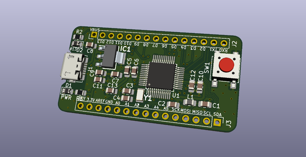 SAMD21G18A Development Board