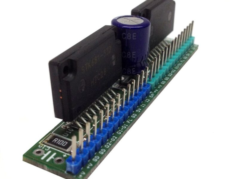 Dual Forward/Reverse DC Motor Driver with Brake for Robots