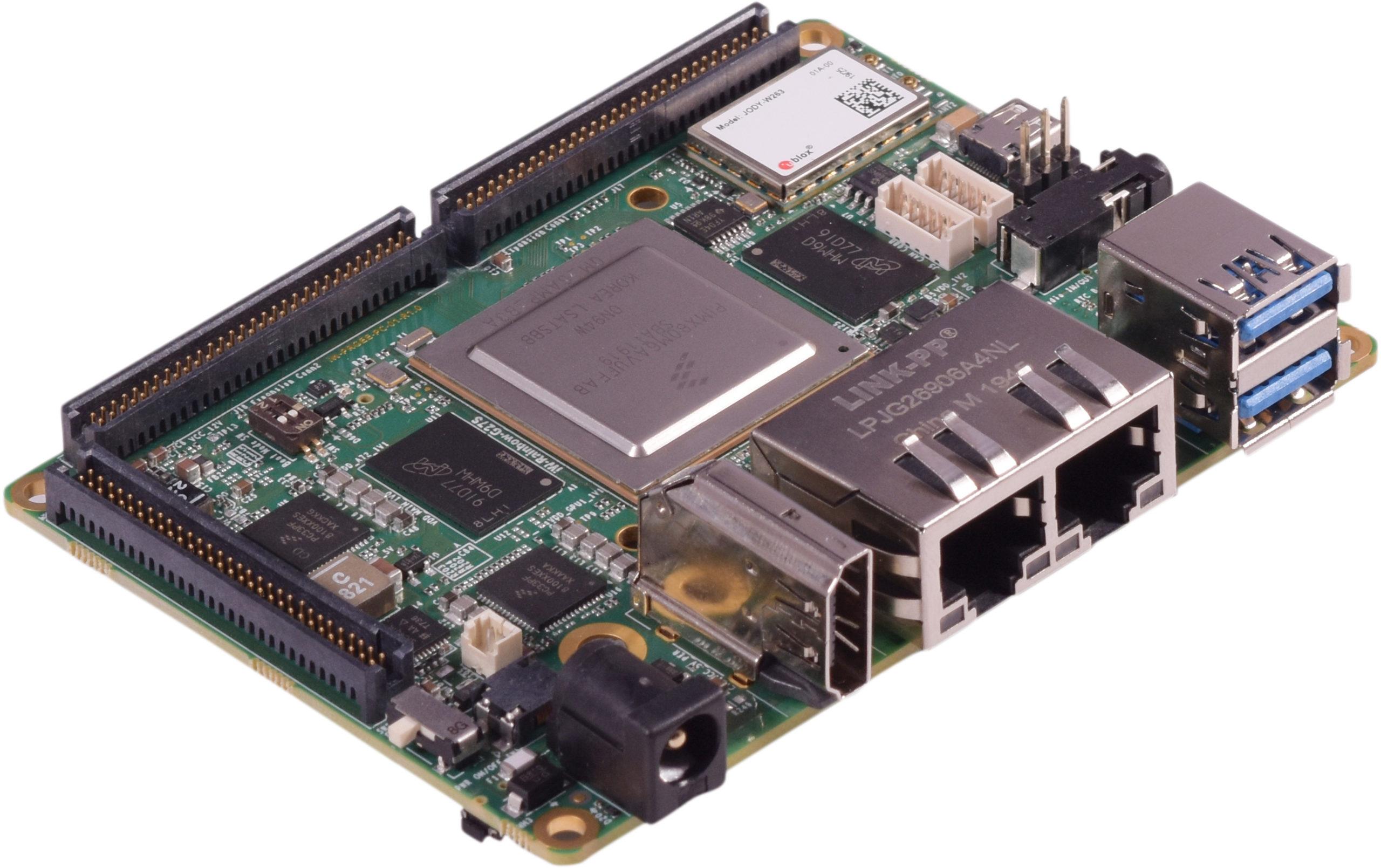 iW-Rainbow-G27S – i.MX8 Quad MAX/Quad Plus Pico ITX SBC