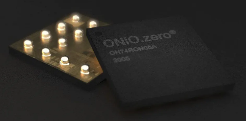 ONiO.zero microcontroller runs without a battery