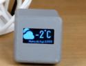ESP8266 based Online Weather Widget using Wemos D1