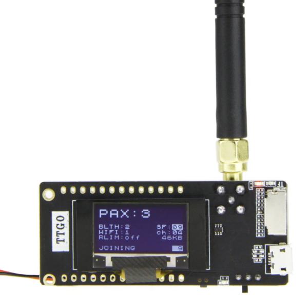 ESP32 LoRa Sensor Monitoring with Web Server (Long Range Communication)