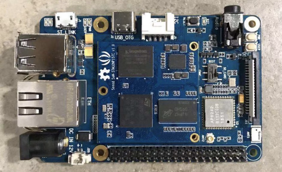Seeed's Odyssey – STM32MP157C SBC features cortex-A7 and M4 processor