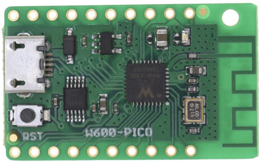 W600-PICO – A New $2 WiFi IoT Board that runs MicroPython