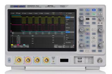 Saelig Announces the 2/4-channel 100-350Hz Siglent SDS2000X Plus Series Oscilloscopes