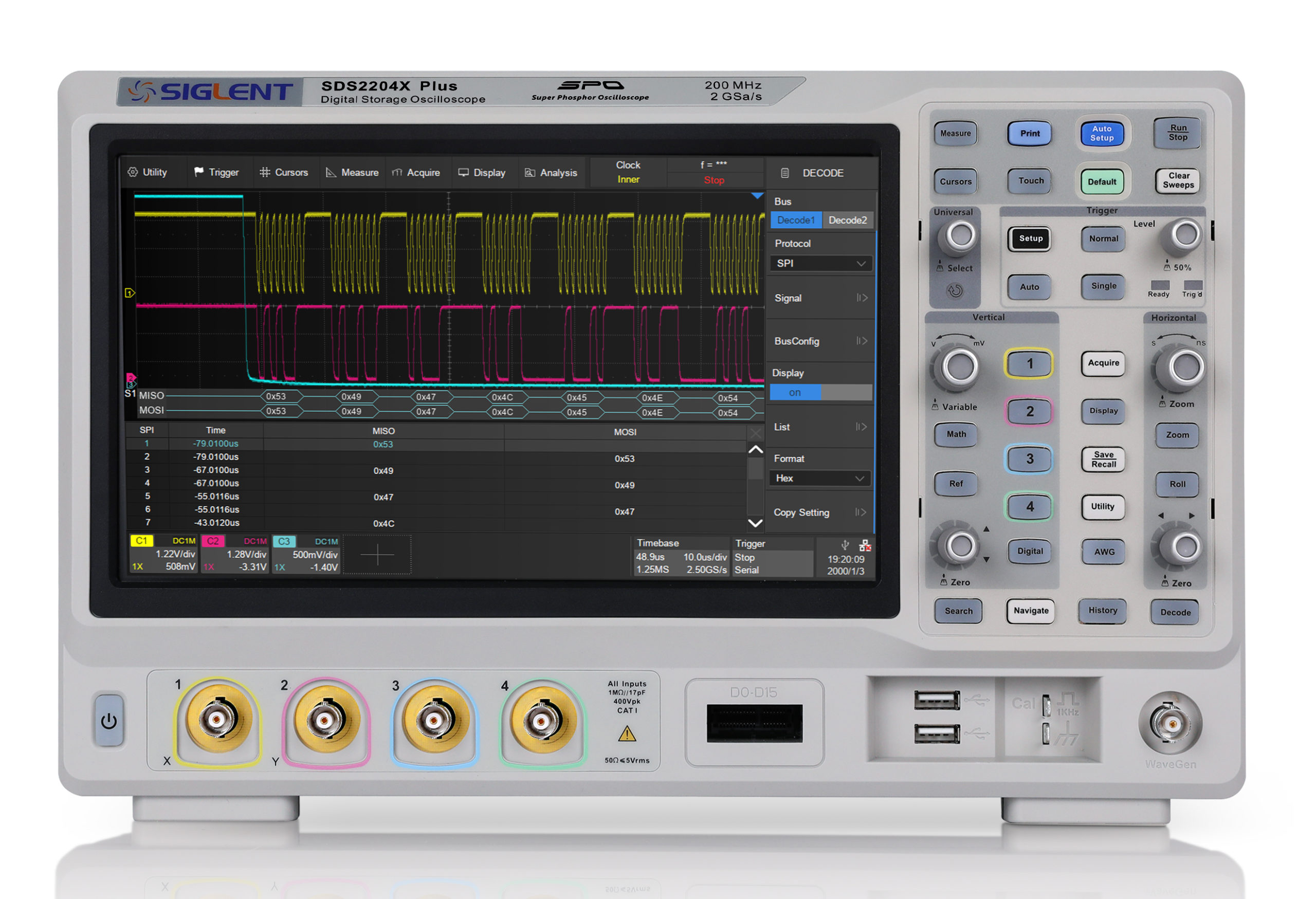 Saelig Announces the 2/4-channel 100-350Hz Siglent SDS2000X Plus Series Oscilloscopes