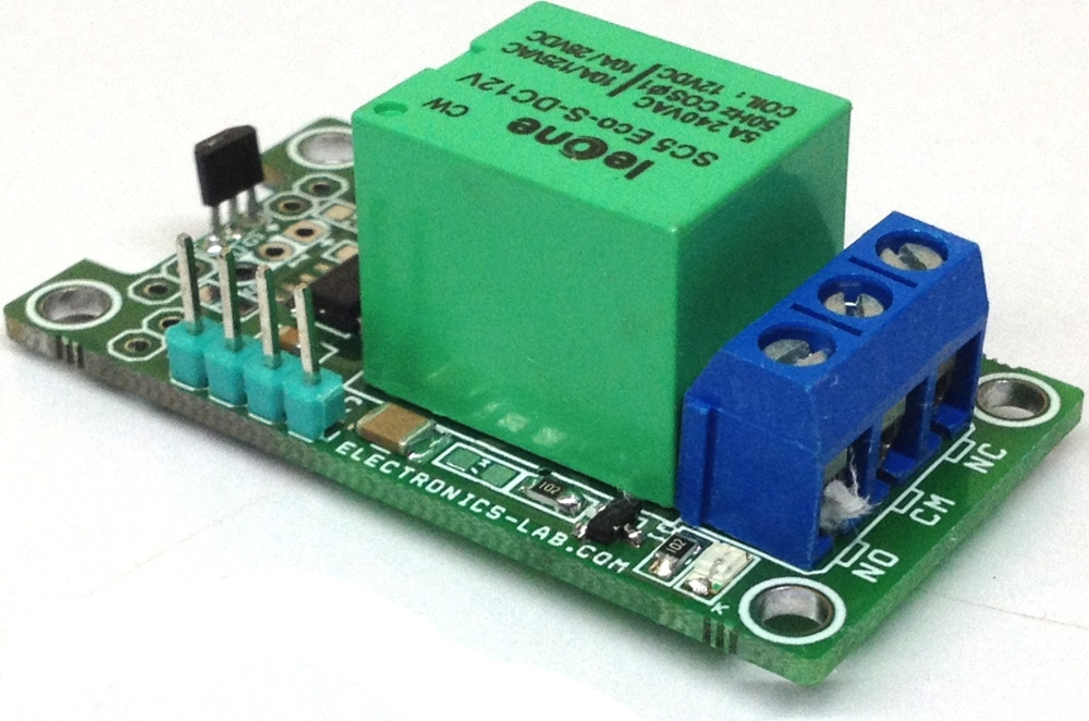 Proximity Distance Sensor using DRV5053 Hall effect Sensor