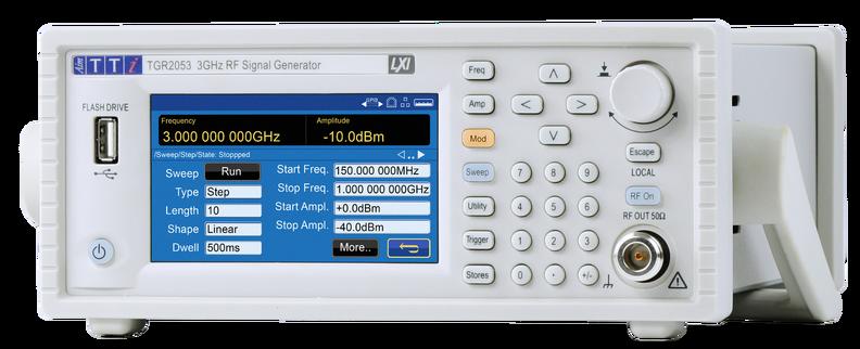 Next Generation Aim-TTi TGR2050 Series RF Signal Generators Now Available