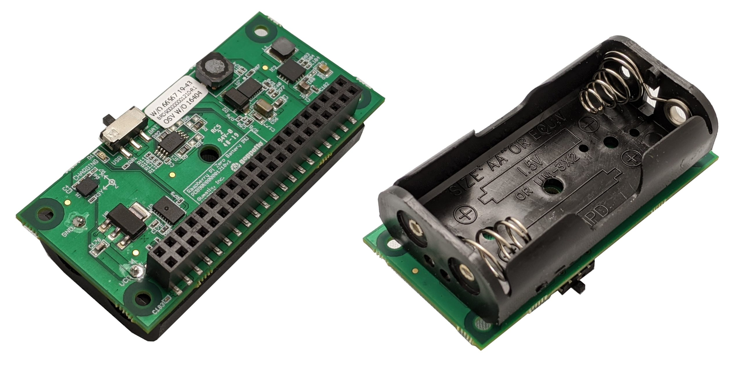 Gumstix Raspberry Pi Zero Battery Board offers two-hour mobility