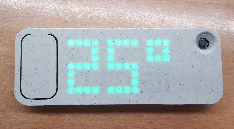 Temper: Sleek temperature sensor built on ESP8266