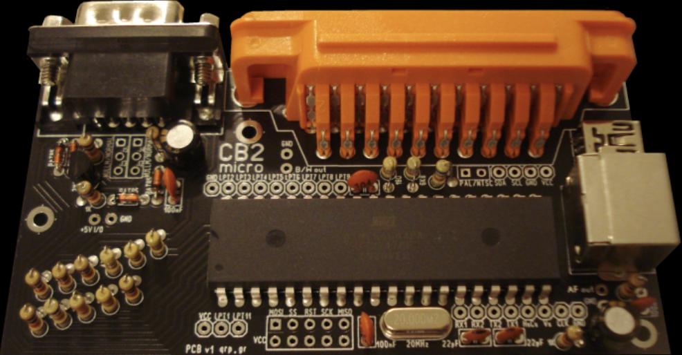 CB2 is a BASIC Retro micro Microcomputer