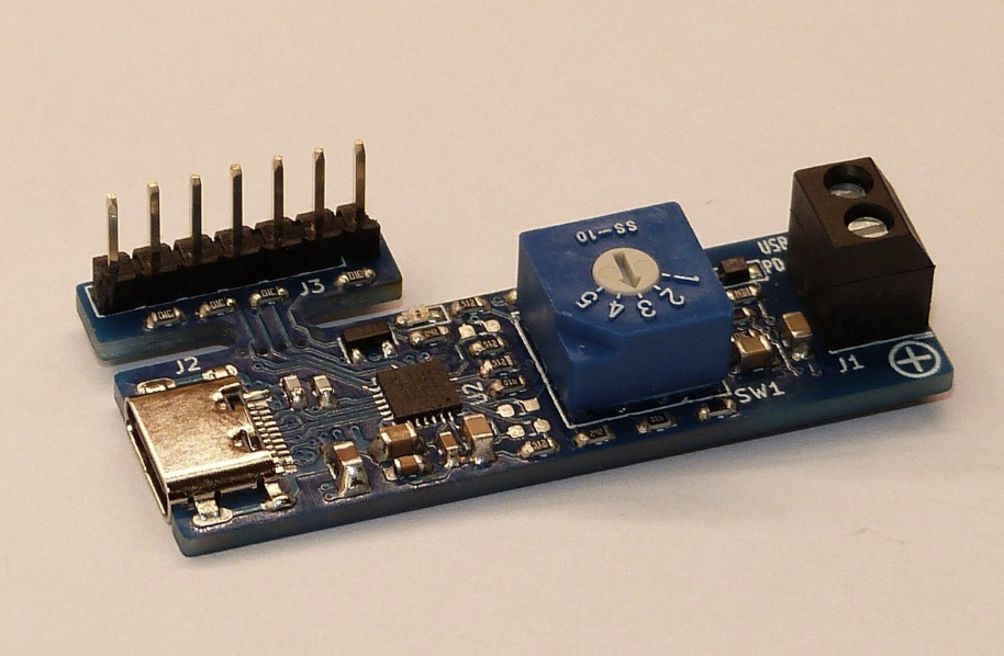 Mini USB-C PD sink board enables Power regulation for any device