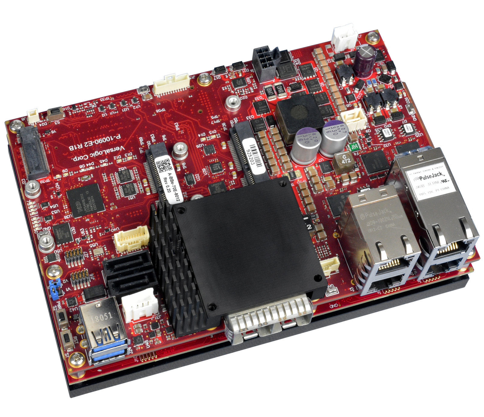 Versalogic Grizzly is an Embedded Server Board Powered by 16-Core Intel Atom