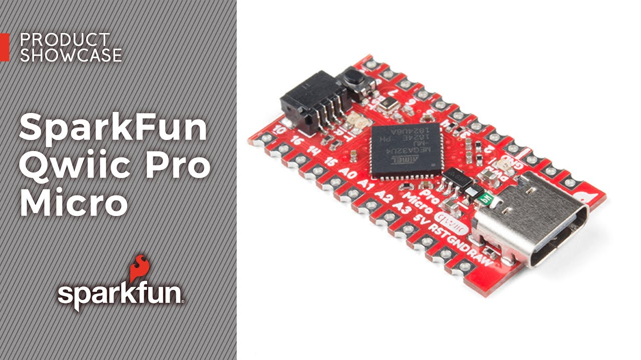 Meet Sparkfun's Qwiic Pro Micro with USB Type-C