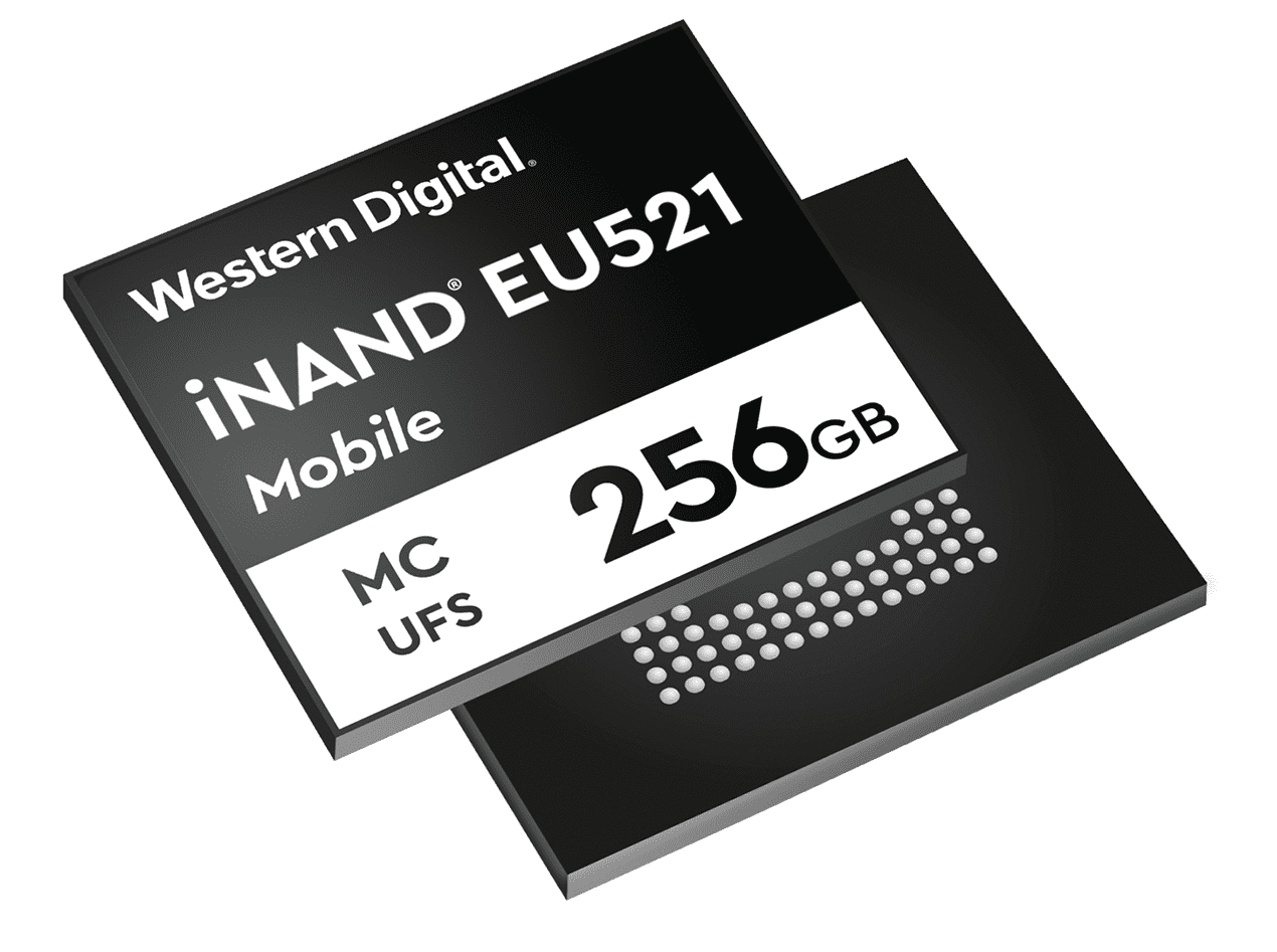 WD releases Mobile iNAND UFS Series Embedded Flash Drives, ready for 5G
