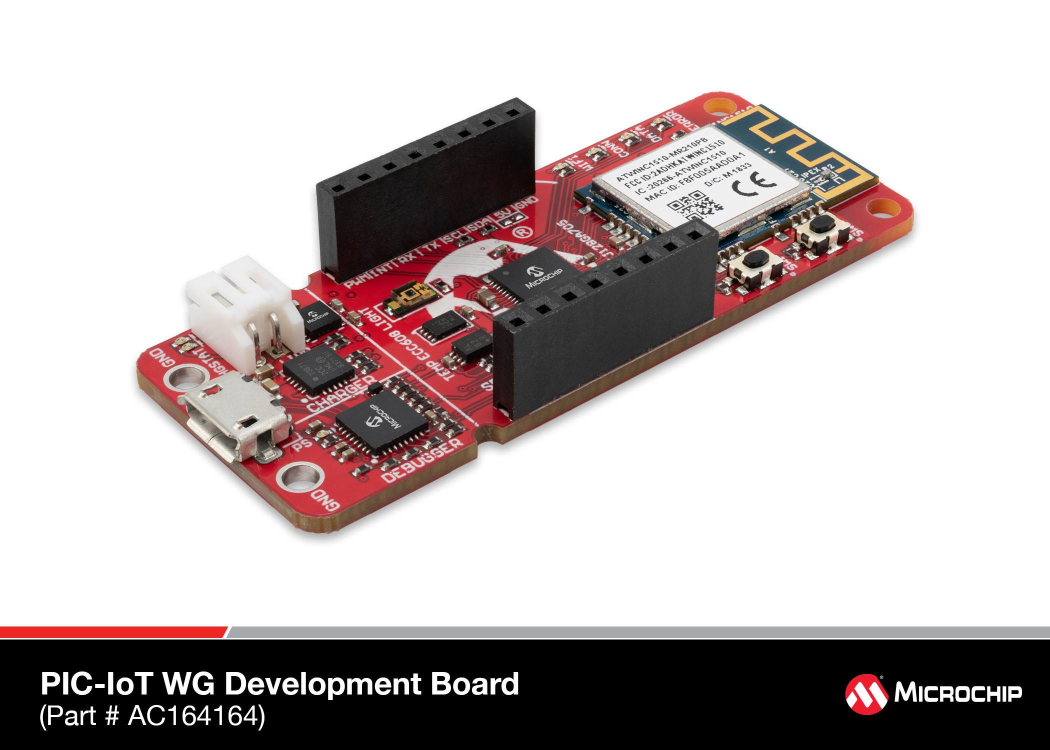 EV54Y39A PIC-IoT WA Development Board