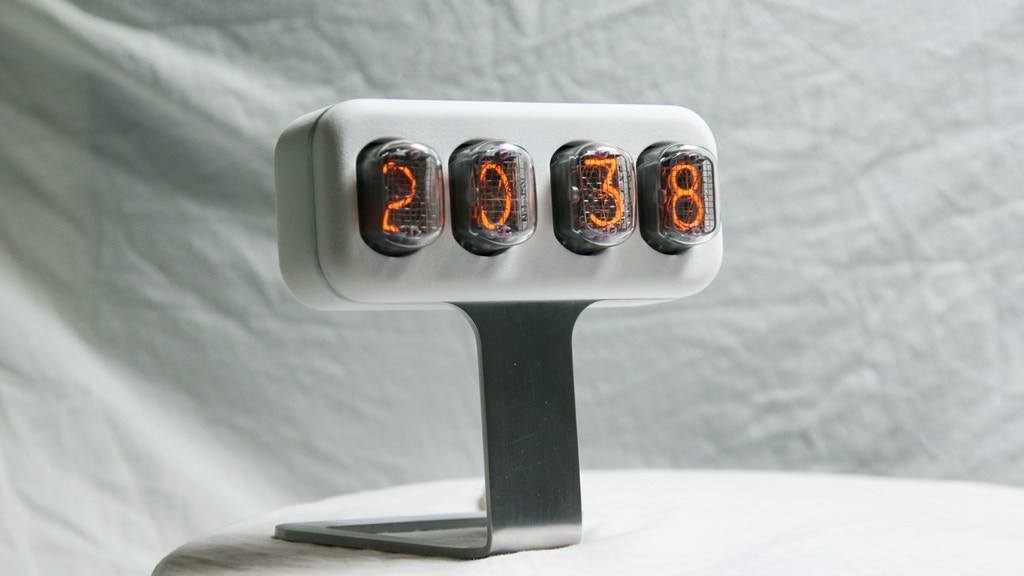 NIXLER: limited edition nixie tube clock