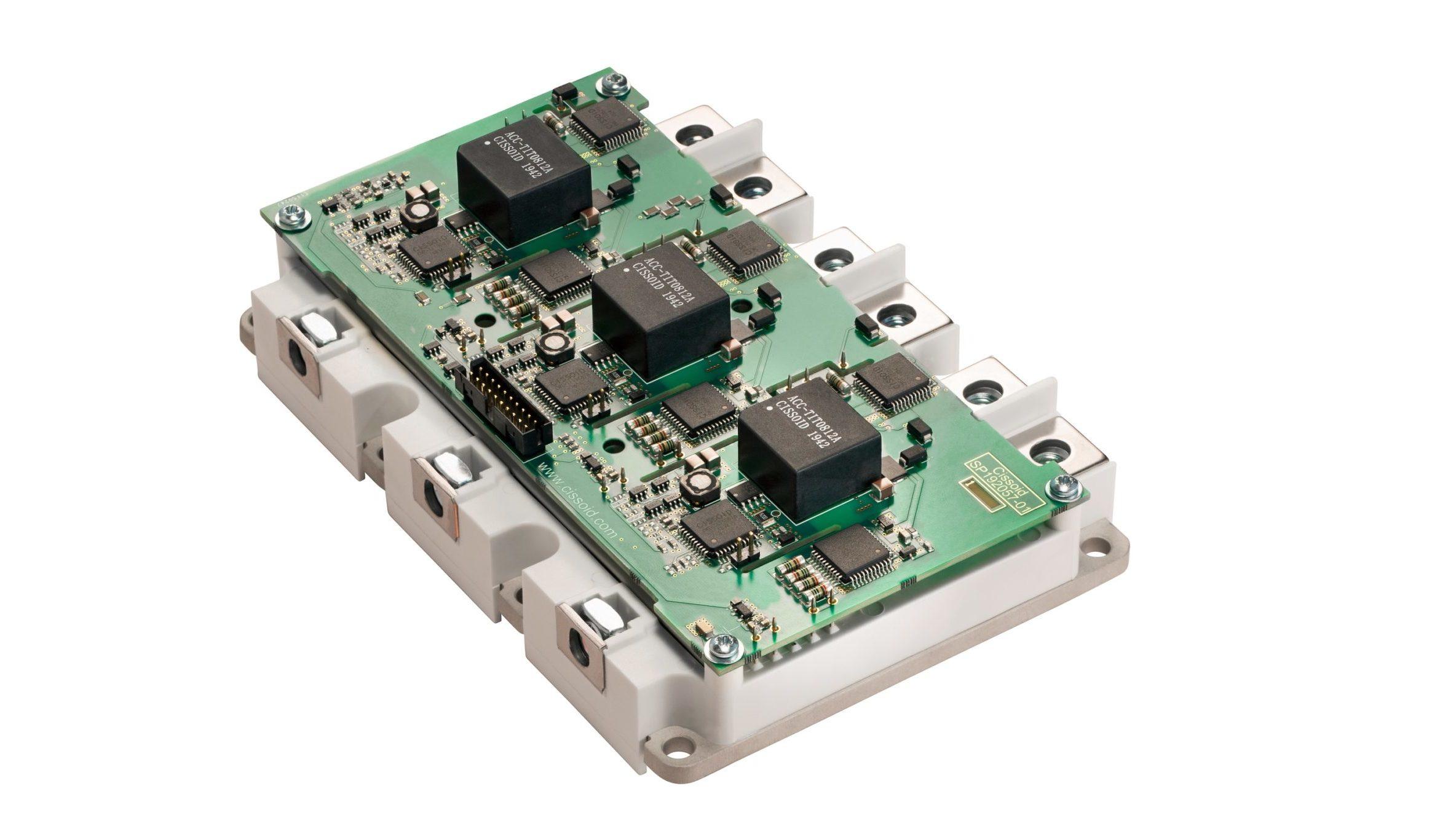 CISSOID announces 3-Phase SiC MOSFET Intelligent Power Module for E-mobility