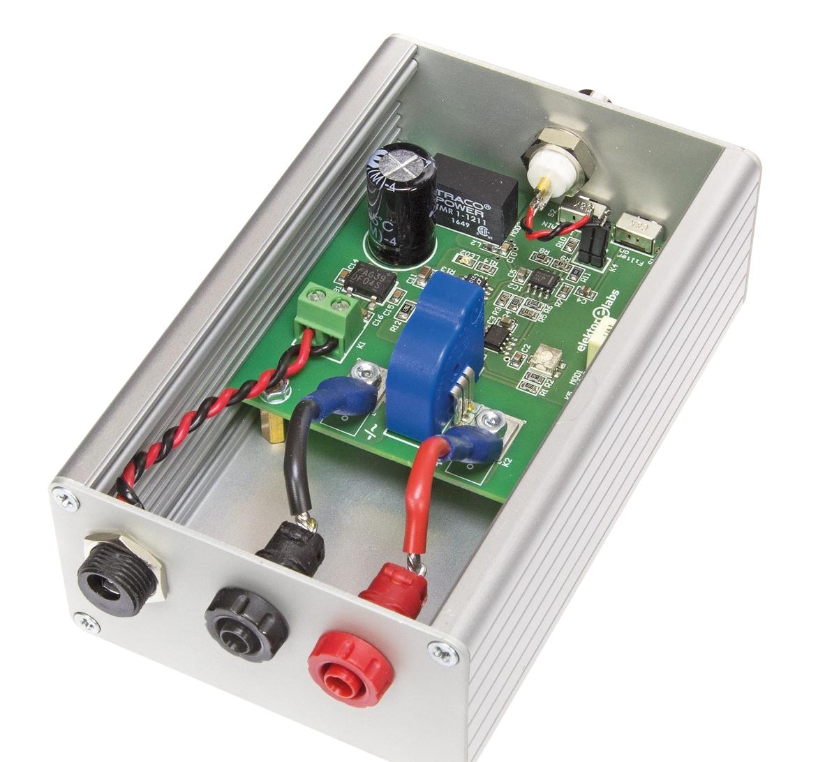 Free Elektor Article: Current Transformer for Oscilloscopes