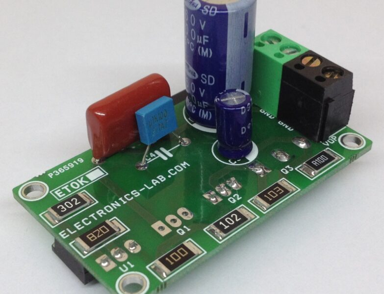 High Voltage Regulator –  48V DC Output from 125V DC Input