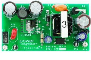 12W AC-DC Power Supply Reference Design Meets All ErP Regulations