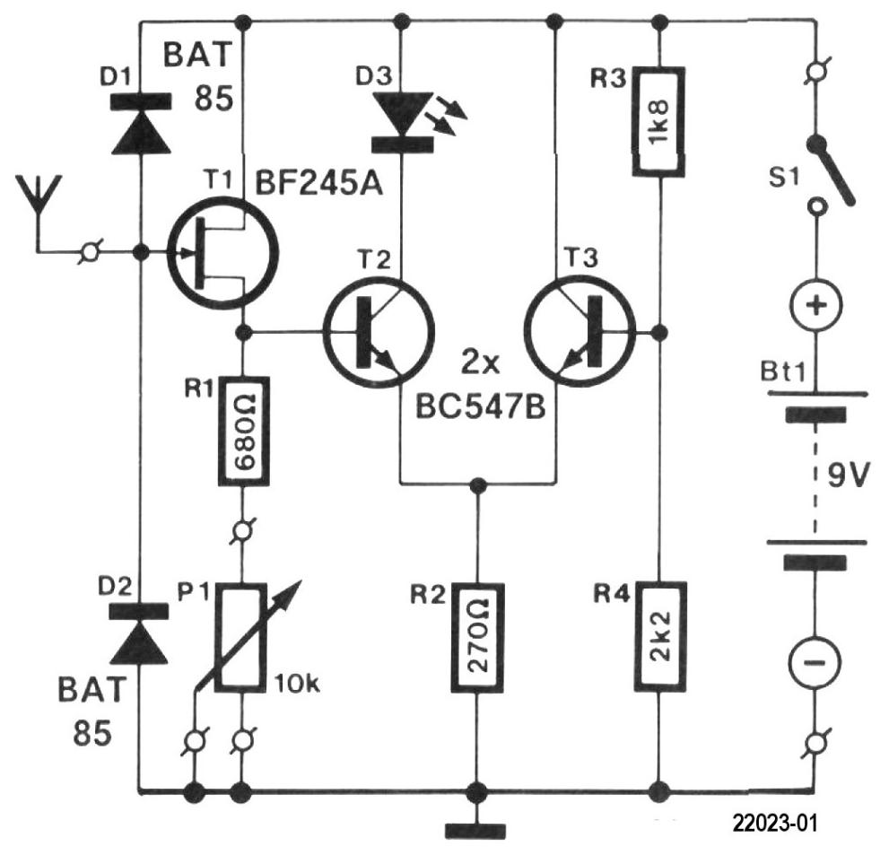 Free Elektor Circuit: Cable & Conduit Locator