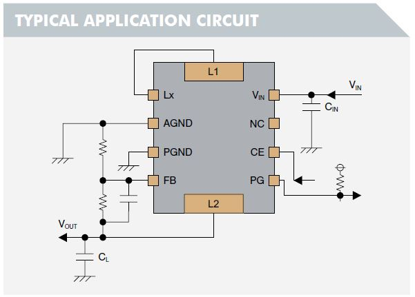 36V, 600mA DC-DC Converters with Integrated Inductors
