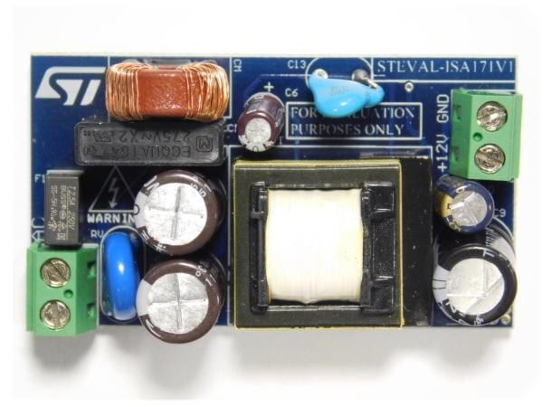 15W Quasi-Resonant Flyback AC-DC Power Supply – Reference Design