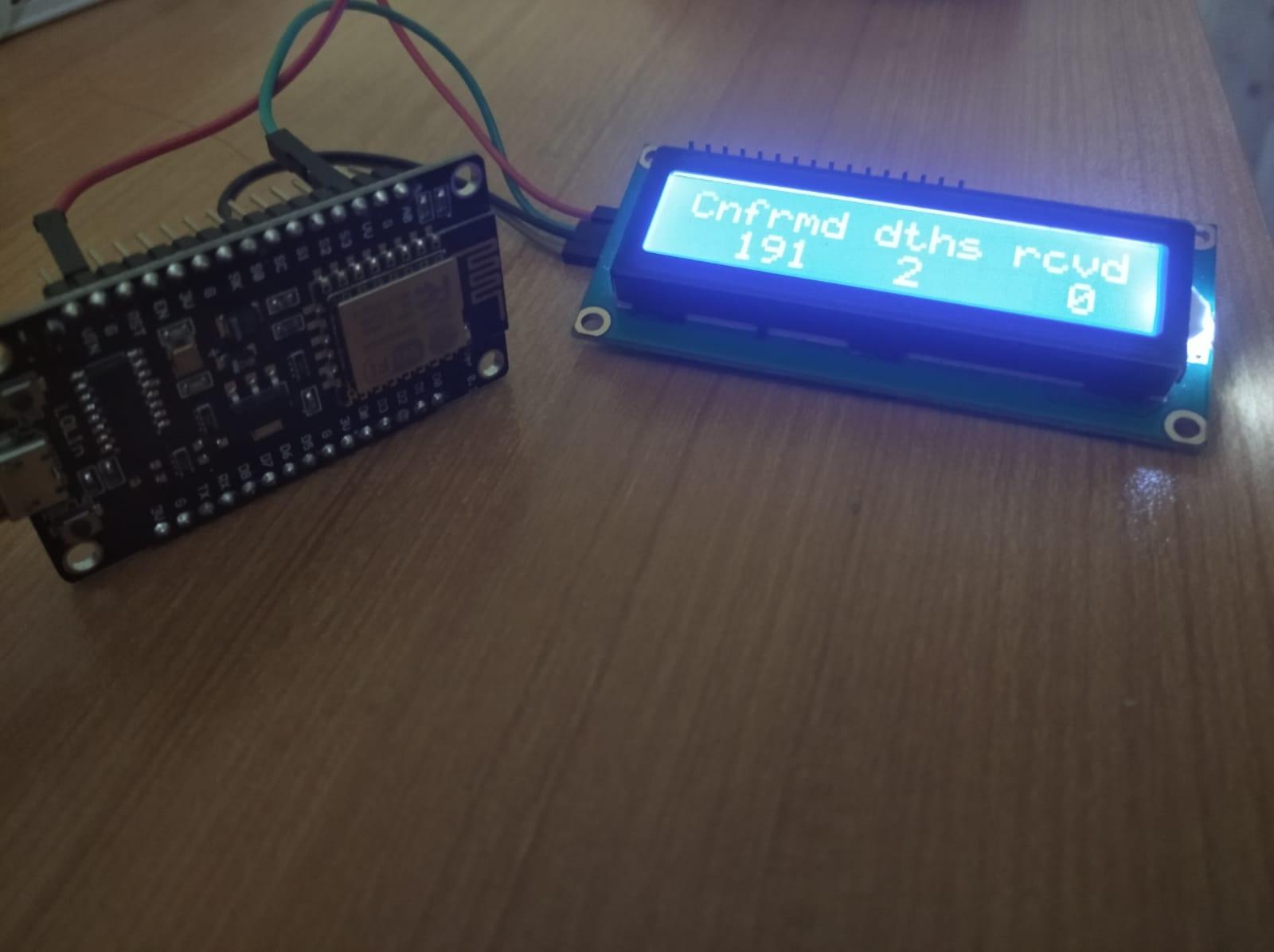 ESP8266 based Coronavirus tracking project