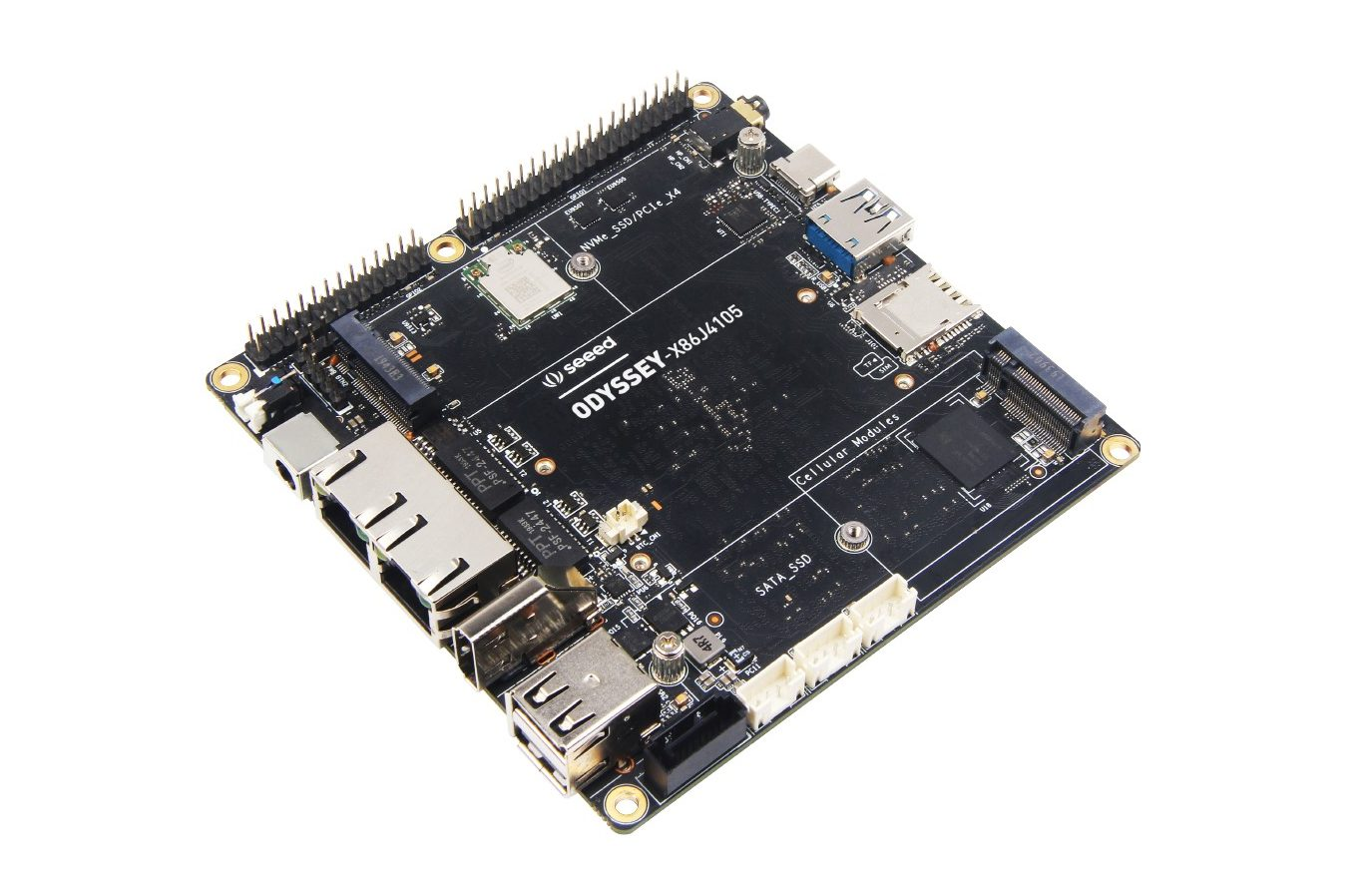 Seeed Launches ODYSSEY-X86J4105 – An Expandable x86 Mini Computer with Arduino support