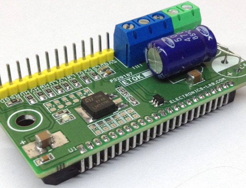 20A/40V Integrated Power Module for DC Brushless Motors (BLDC)
