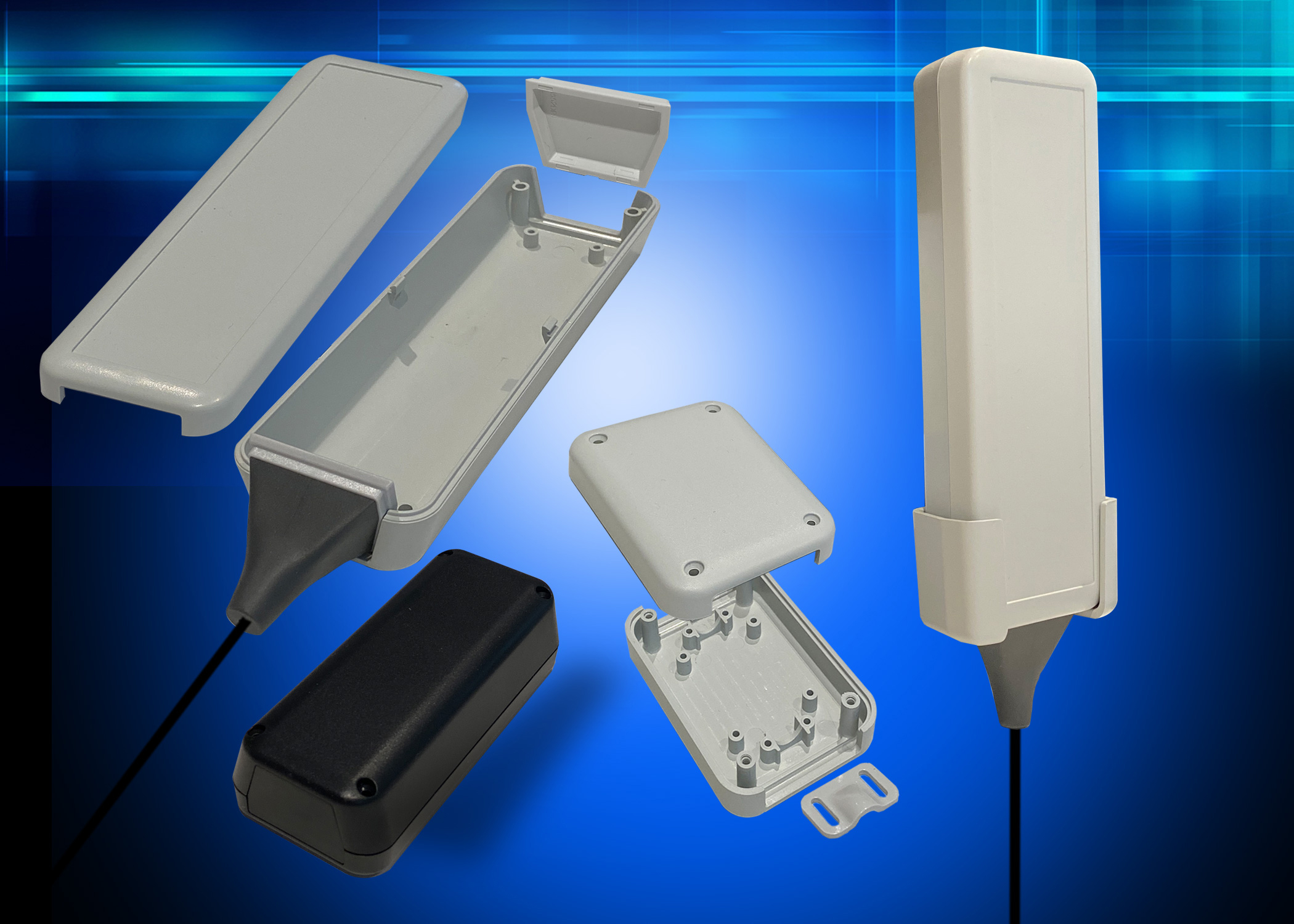 Bürklin stocking new hand-held enclosures from Hammond Electronics