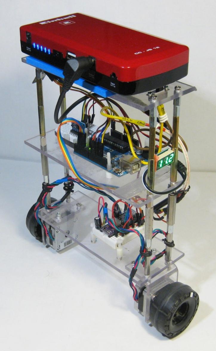 BalBot: a Self-Balancing Robot