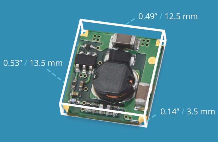 New DC-DC Converter Features 500 mA Output Current